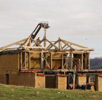 Construction terre crue