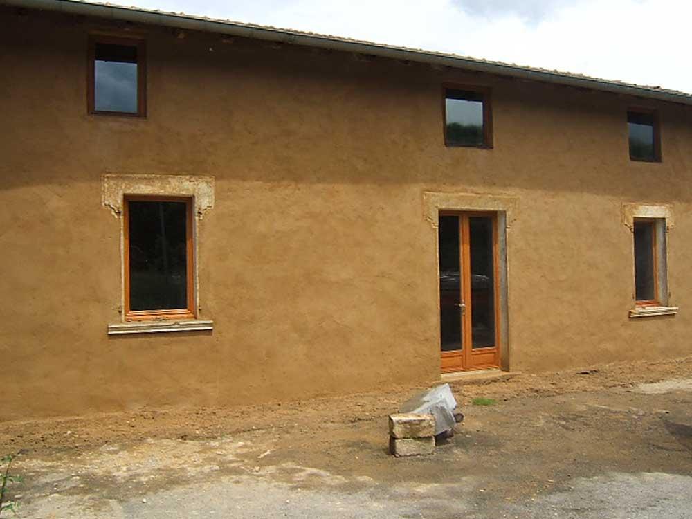 enduits terre crue christian baur ma onnerie terre crue pierre et chaux. Black Bedroom Furniture Sets. Home Design Ideas
