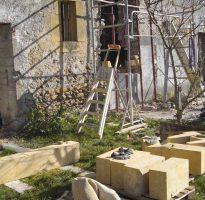 Création d'ouvertures en pierre